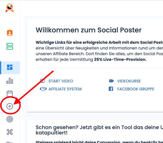 Social Poster - Account Manager